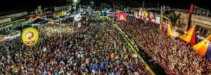 BELL MARQUES COMEMORA 35 ANOS MICARETA FEIRA 2016.