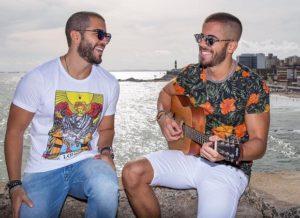 Rafa e Pipo Marques encartam CD inédito em jornal da Bahia